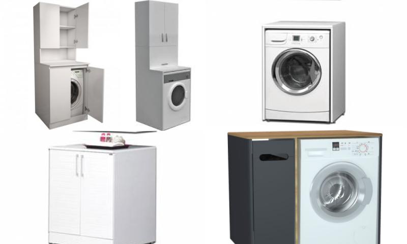 Çamaşır Makinesi Banyo Dolabı Ne İşe Yarar?
