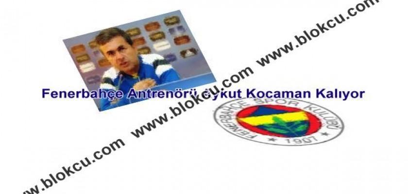 Fenerbahçe Antrenörü Aykut Kocaman Kalıyor