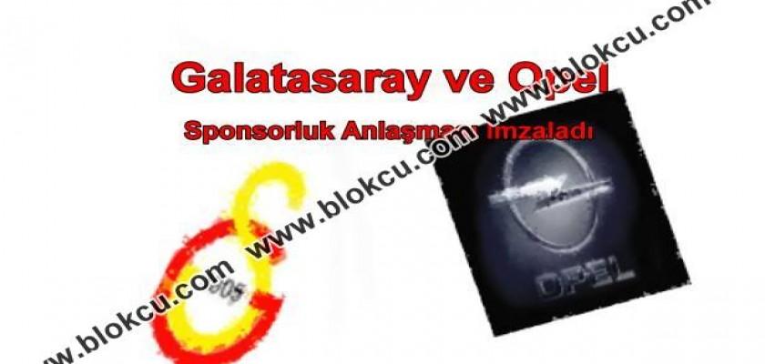 Galatasaray ve Opel Sponsorluk Anlaşması İmzaladı