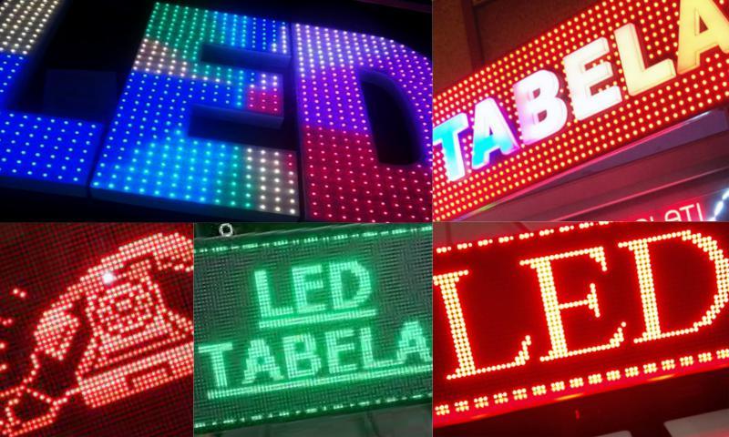 Led Tabelaların Teknik Özellikleri