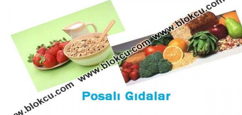 Posalı Gıdalarla Beslenin