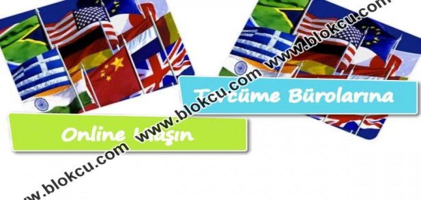 Tercüme Bürolarına Online Ulaşım